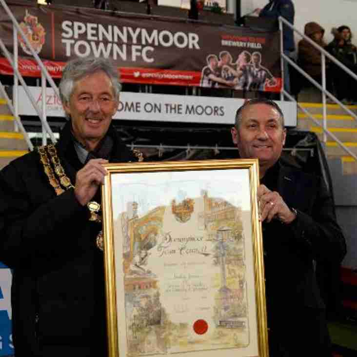 Spennymoor Club Figureheads Honoured By Town Council