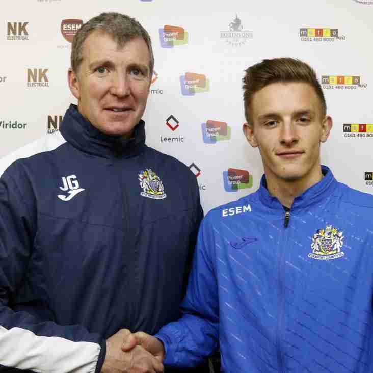 Young Striker Signs First Pro Contract With Hatters