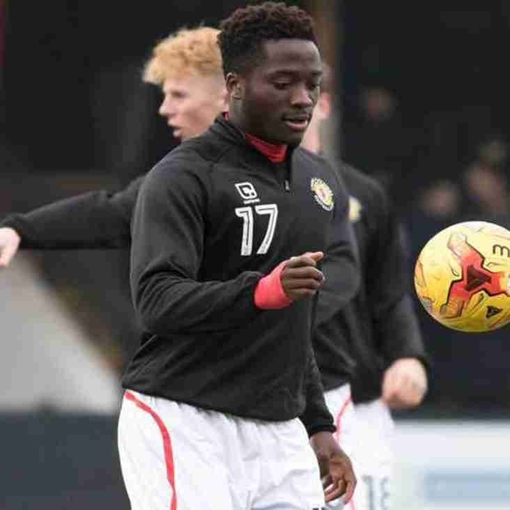 Leamington Take Crewe Striker On A Month`s Loan