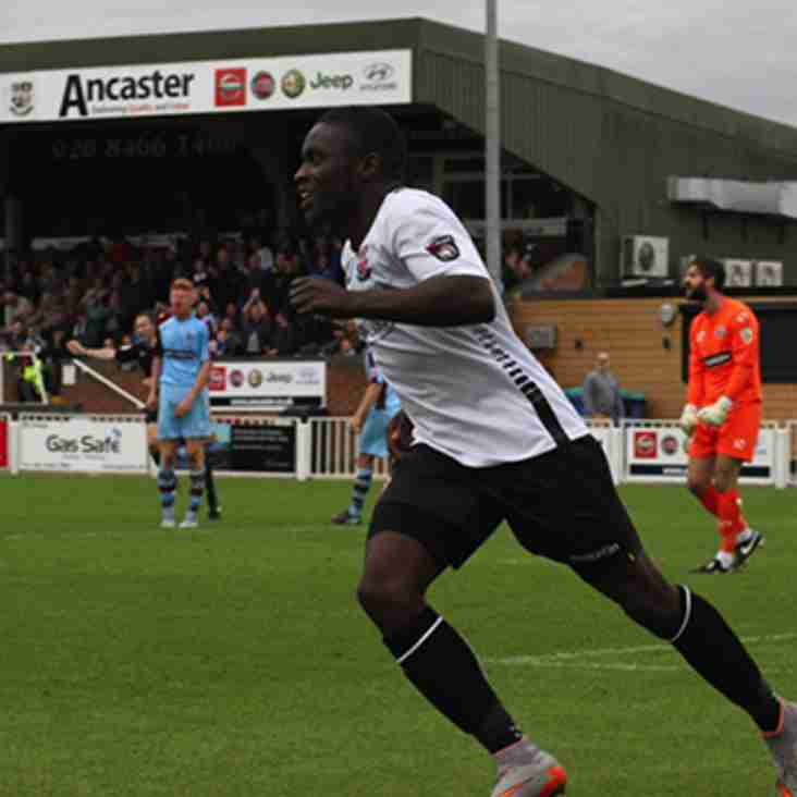 Maidenhead Extend Striker Moses' Stay