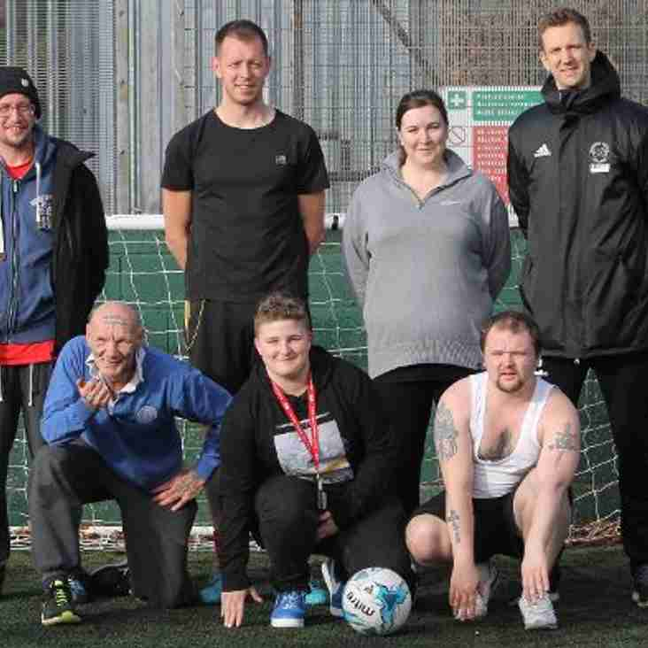Shots Foundation Launches Homeless Football Project