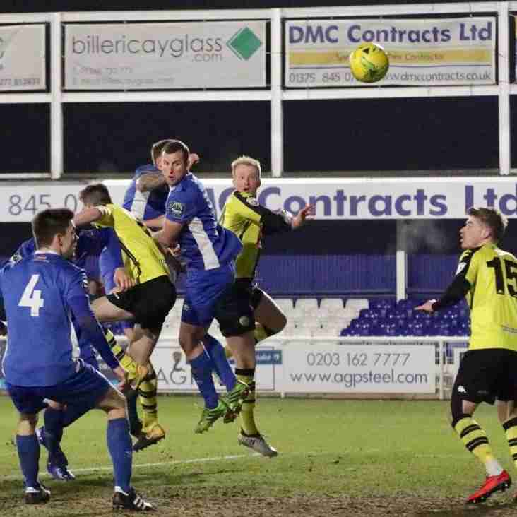 Two Upsets In Tuesday's Buildbase FA Trophy Third Round Replays