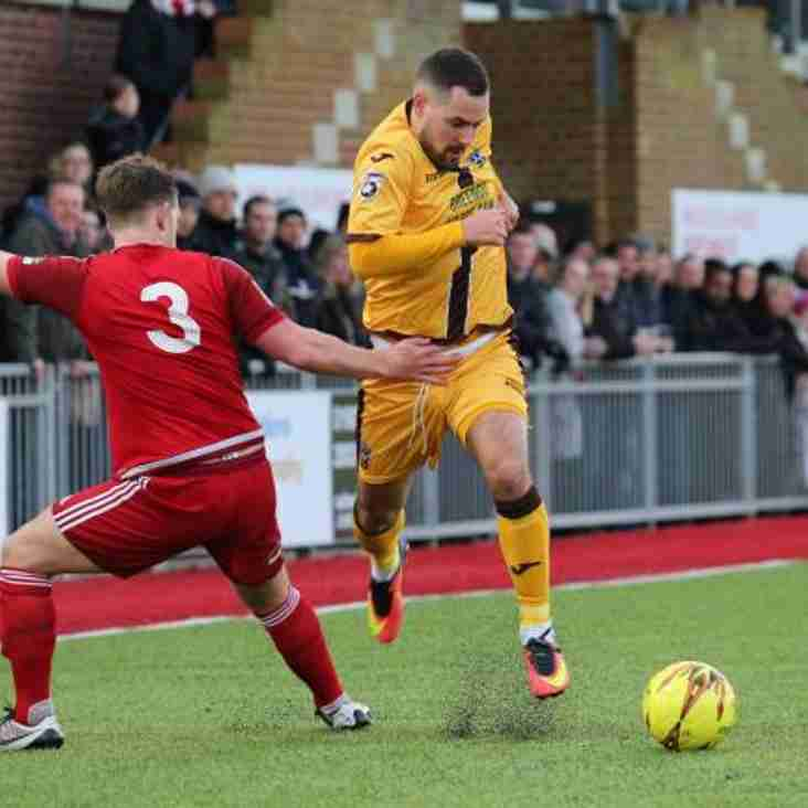 Tudors Take Sutton United Defender On Loan