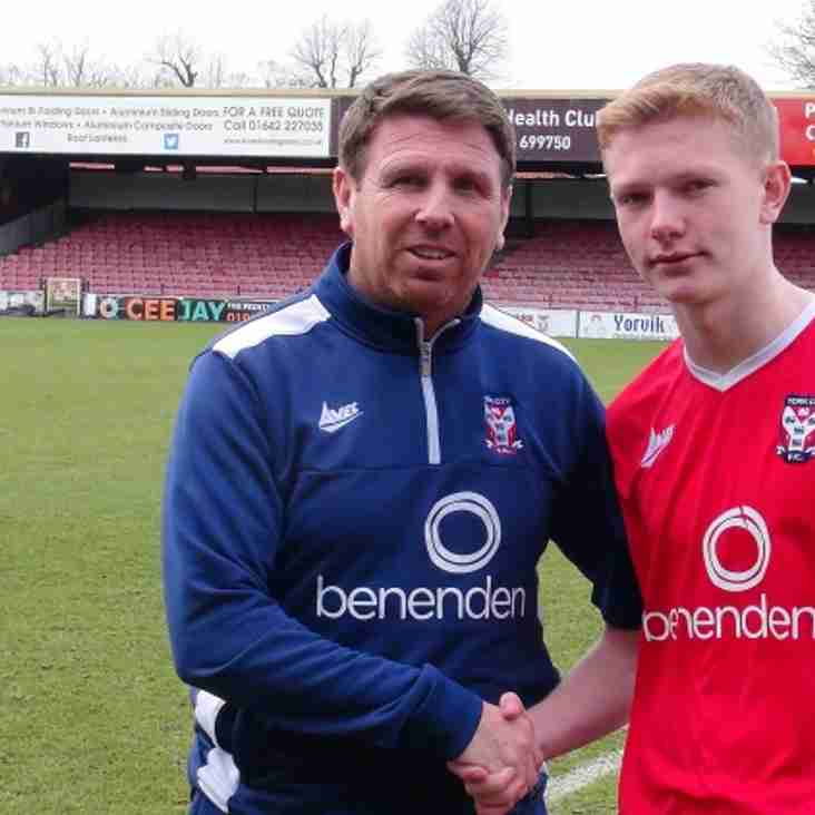 Highly-Rated Youngster Snapped Up By Minstermen
