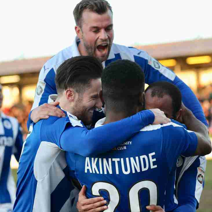 Saturday's Round-Up: Vanarama National League