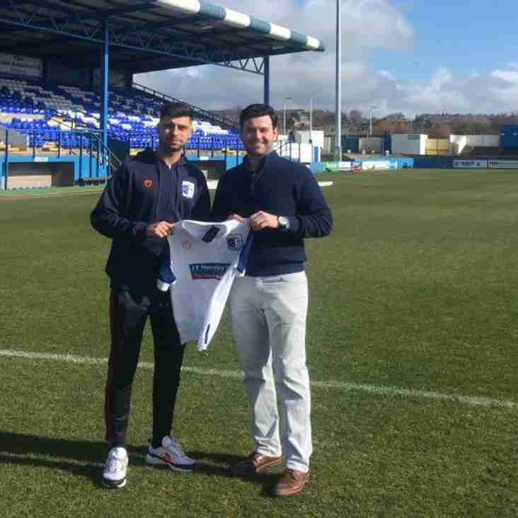 Barrow Swoop For Local Reds Striker