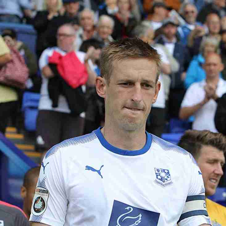 Hughes To Leave Tranmere To Re-Join Larne At Season`s End