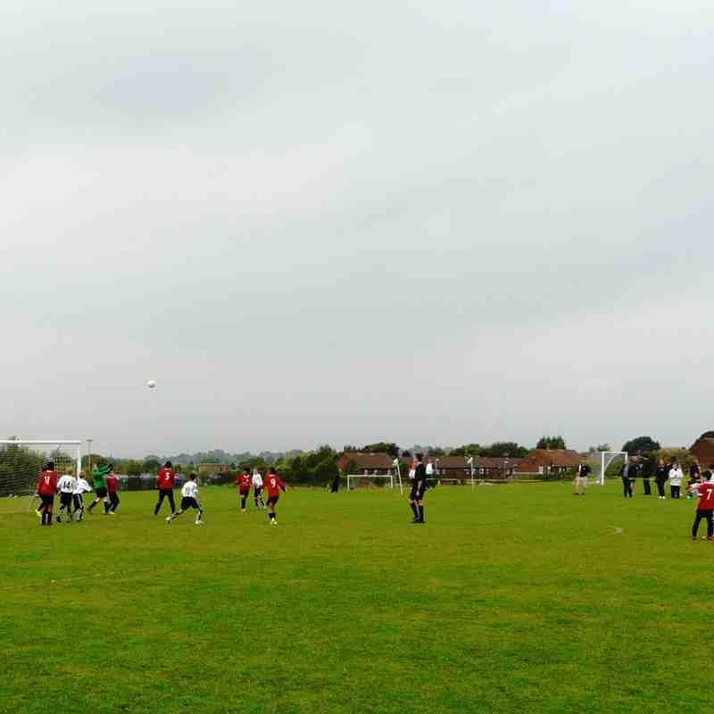 Under 12s v Withington Rangers, 20 Sep 14