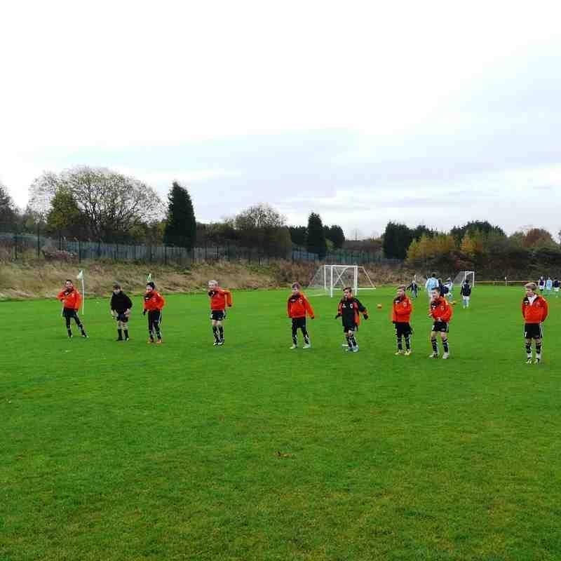 MAFC u12s v Hollingworth Juniors Reds 8 Nov 2014