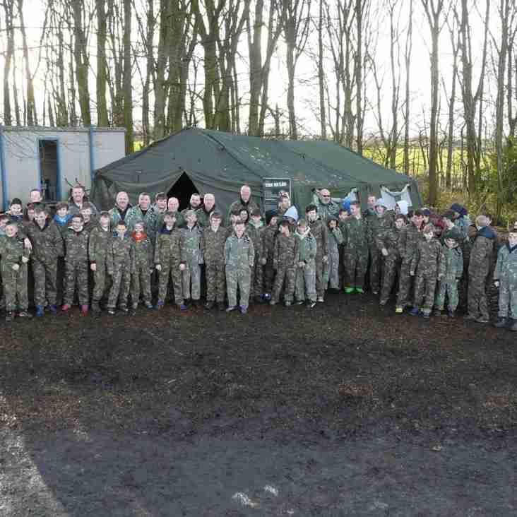 U13s in Battlefield action
