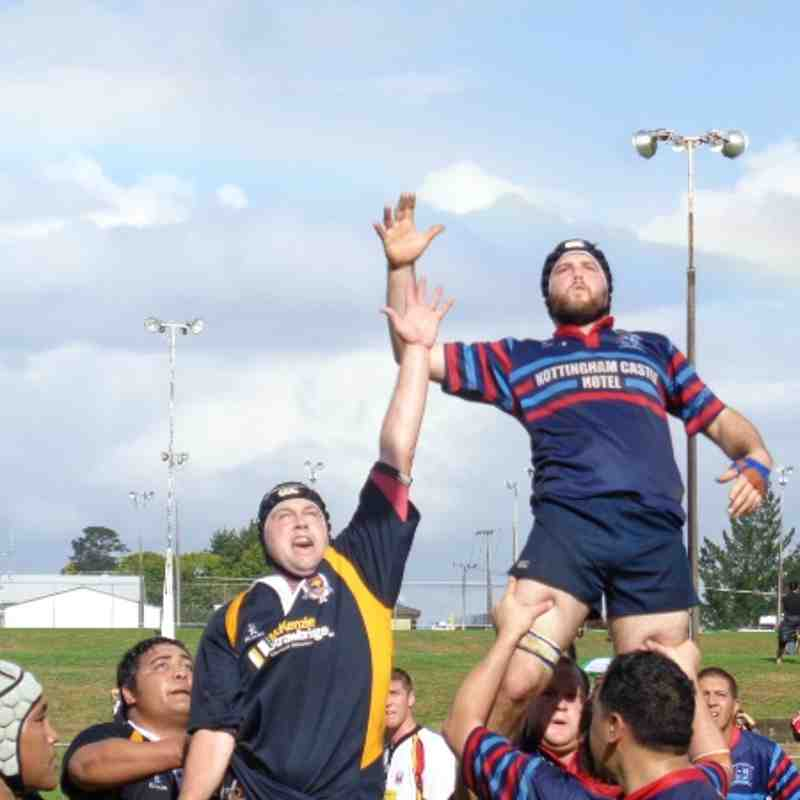 Shane - Lopsey  nailing another lineout