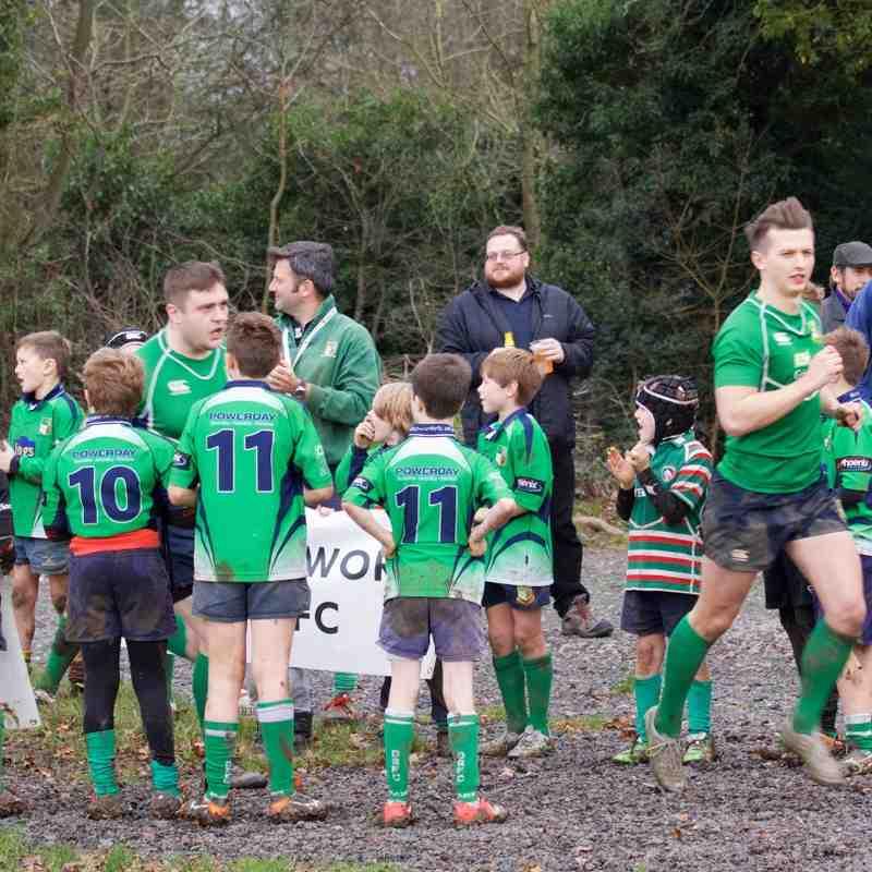 1st XV vs St Albans & Mini Supporters