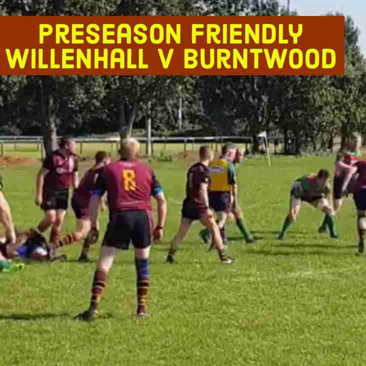 Willenhall V Burntwood match review