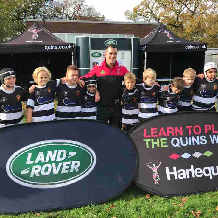 GRFC Under 11's 'Gladiators' take on The Premiership Festival