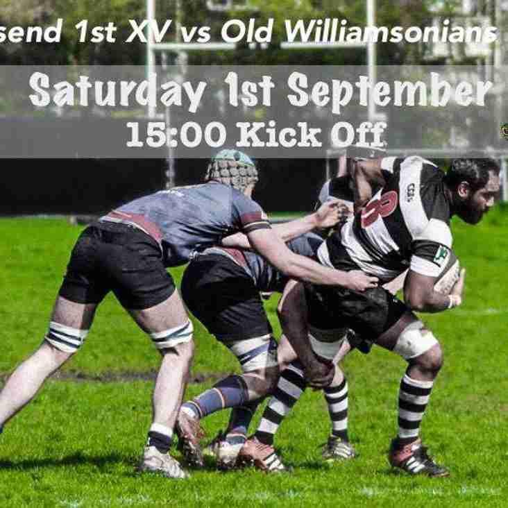 Gravesend 1st XV v Old Williamsoniams 1st XV