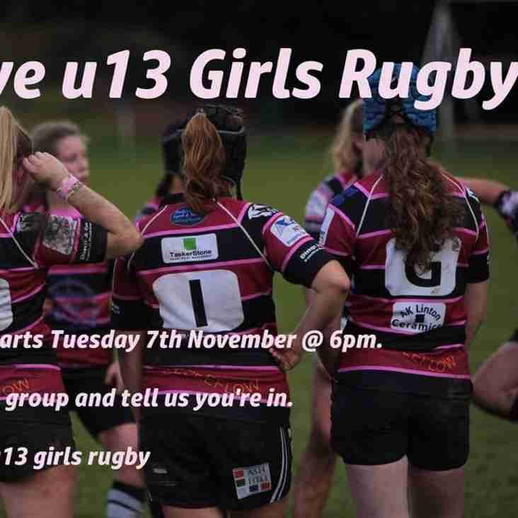 Girls Under 13 Rugby