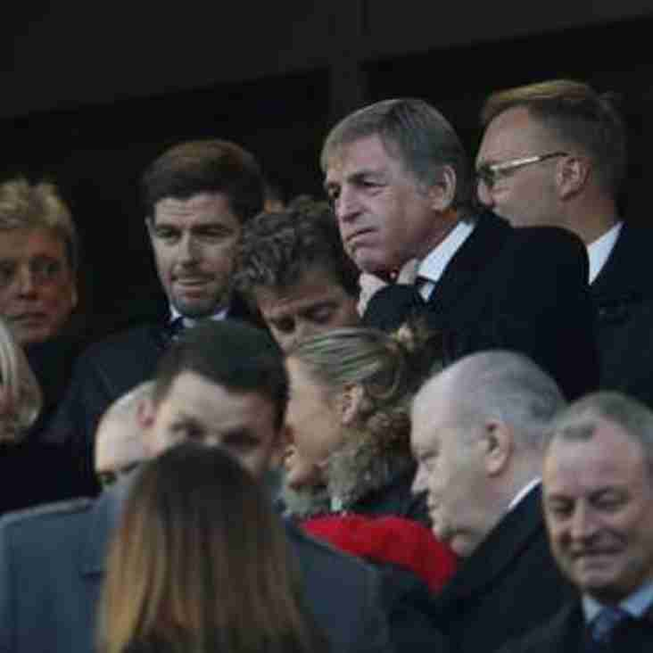 Locky spotted at Anfield