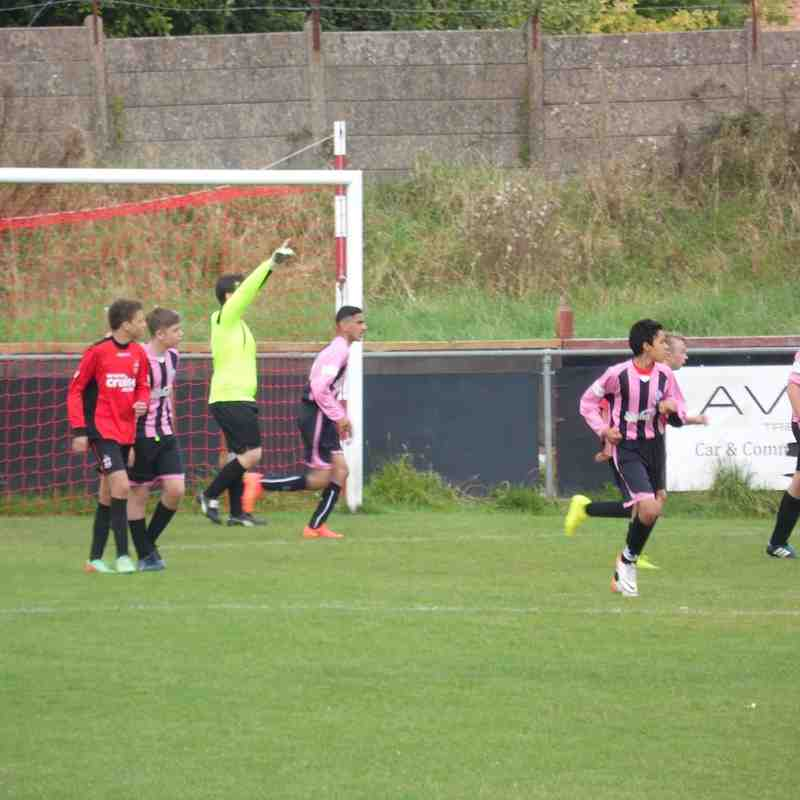U15 Redditch United  v  Sporting 14/9/2014