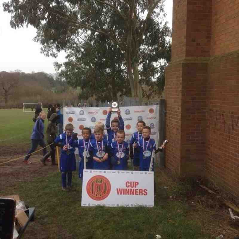 U8 SP Winter Cup Winners 2015