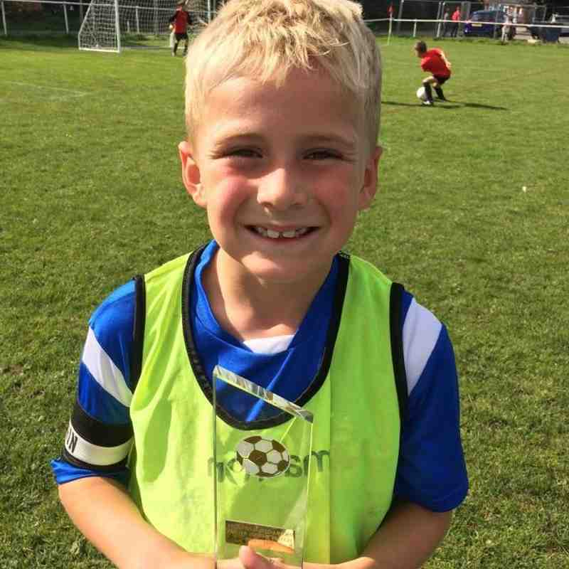 U9 SR Player of the Matches 2015/16