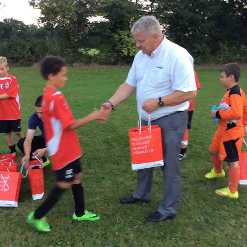 BOBST sponsor Home Kit U10's 2016/17