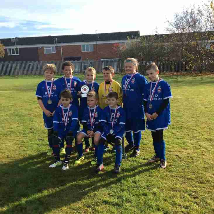 Under 10's Win Winter Cup Group C