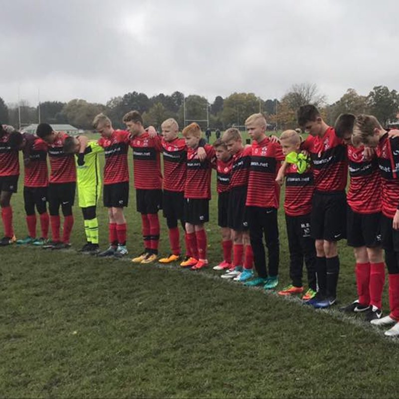 Reds Juniors Rememberance Day