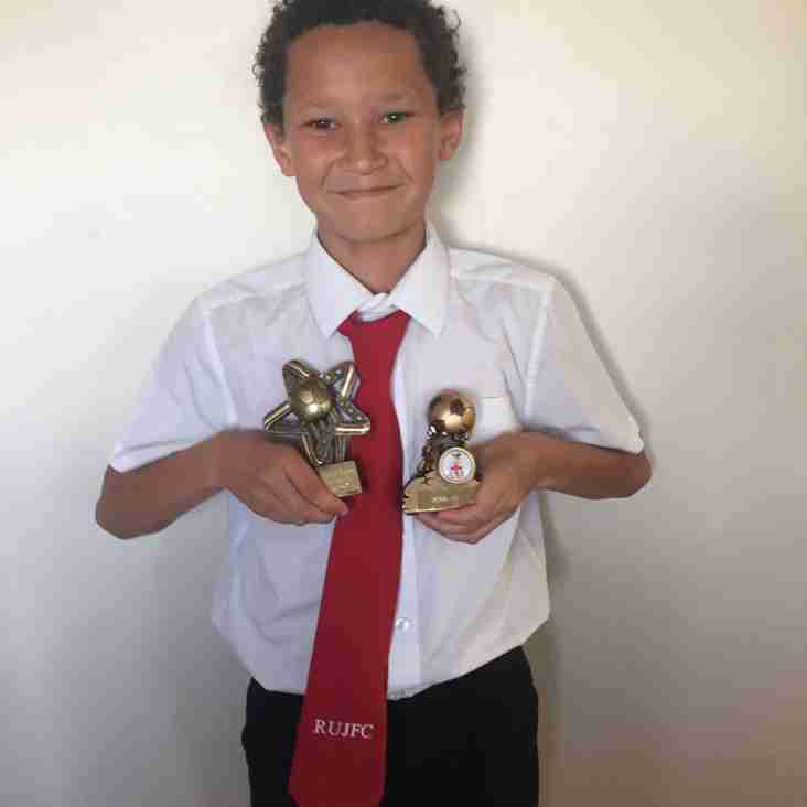 U11 November Player of the Month announced