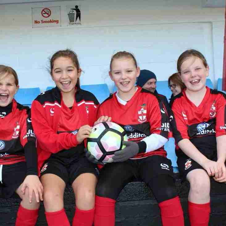Redditch United U10 Girls Looking for Players