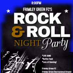 Frimley Green FC Rock & Roll Party 2nd April 2016