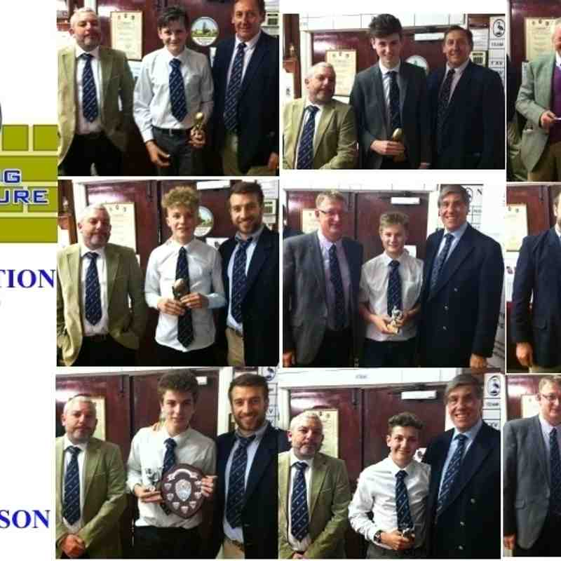 2014-15 - u13, 14 & 15 PRESENTATION NIGHT
