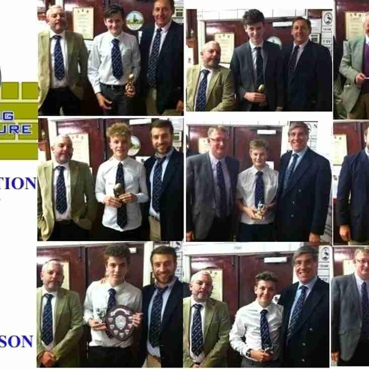 2014-15 JUNIOR CLUB AWARDS