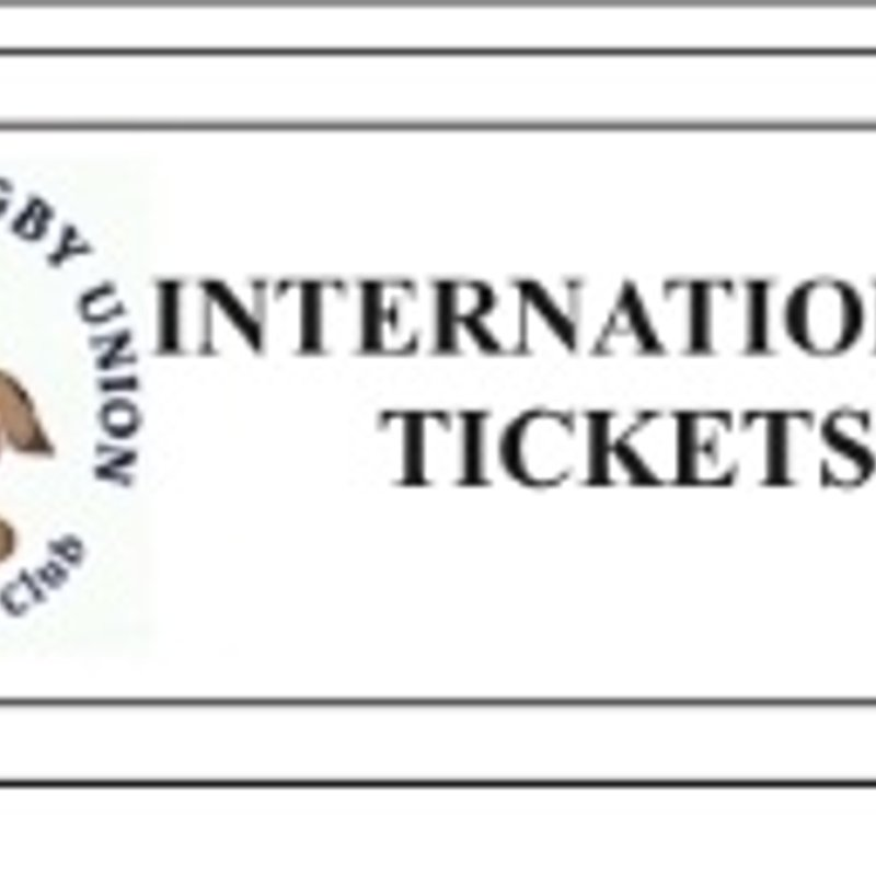 SIX NATIONS 2018 INTERNATIONAL TICKET INFORMATION