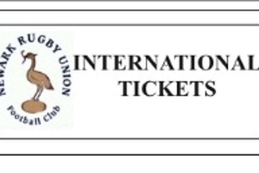 SIX NATION 2019 INTERNATIONAL TICKET INFORMATION