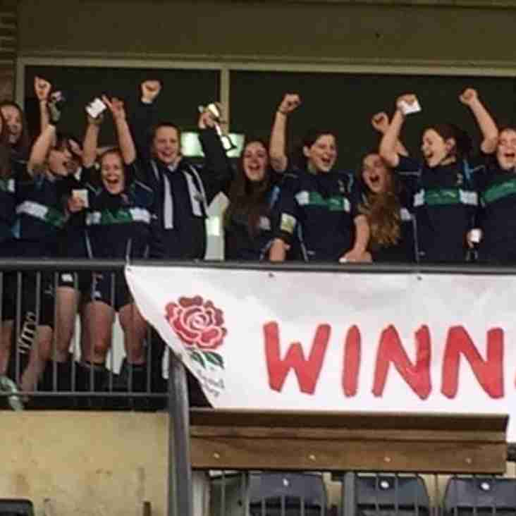 NEWARKS UNDER 15s GIRLS ARE ENGLISH NATIONAL CHAMPIONS