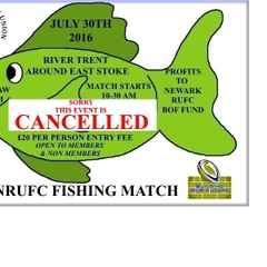 CANCELLED - Fundraising Fishing Match -