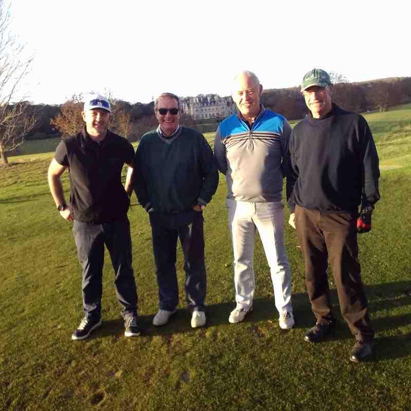 Golf Society - November 2016 at Stoke