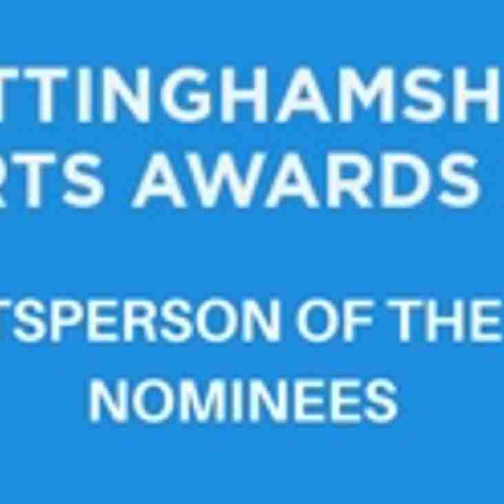 NOTTINGHAMSHIRE SPORTS AWARDS 2016