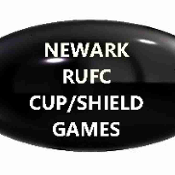 Home date against Paviors in Notts Cup