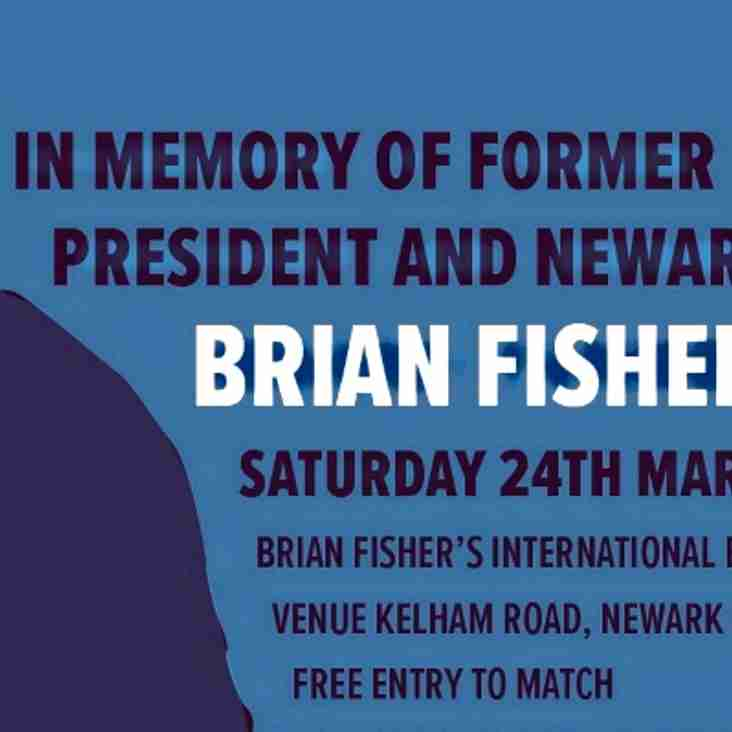 TODAY - BRIAN FISHER MEMORIAL MATCH