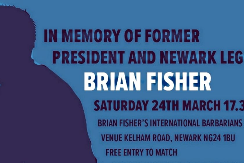 REMINDER - BRIAN FISHER MEMORIAL MATCH