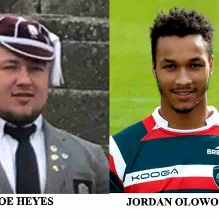 Newark duo in England Under 20s Squad
