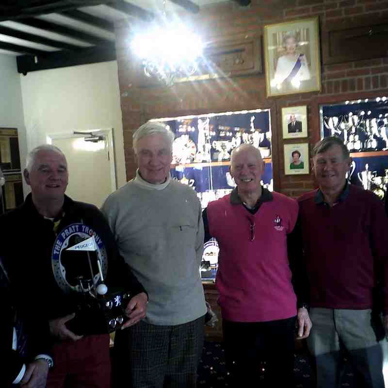 16-02-2018 Golf Society - The Pratt Trophy
