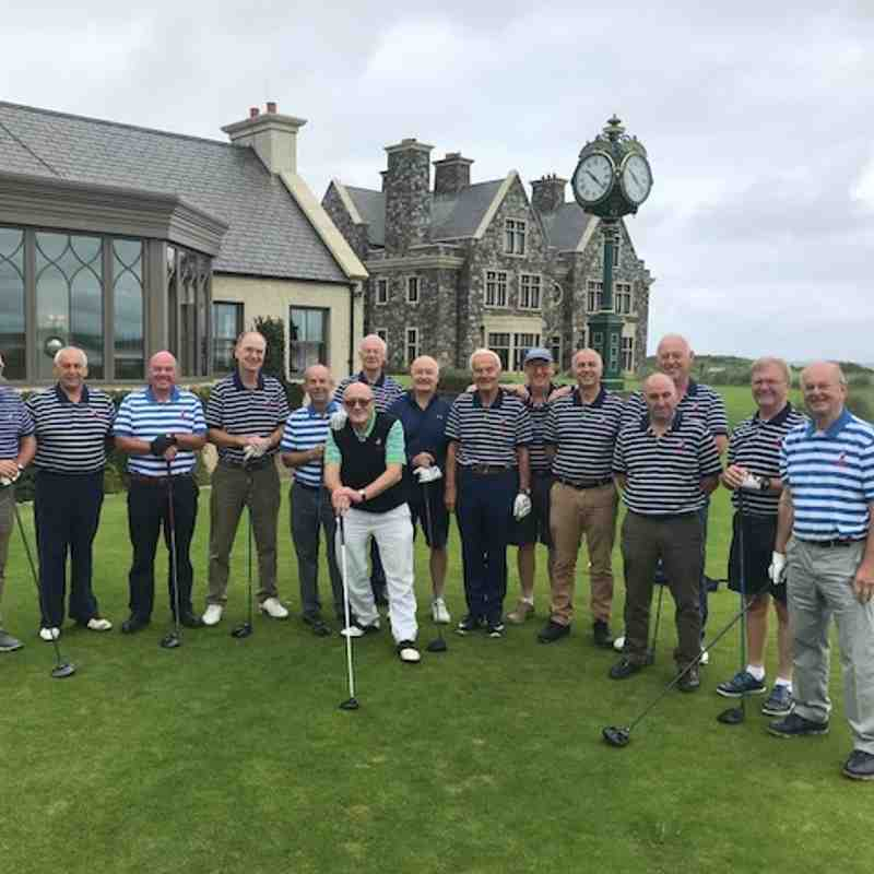 NEWARK RUGBY GOLF SOCIETY 2018 IRISH TOUR