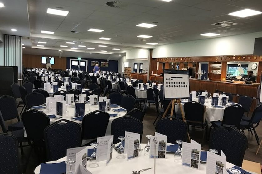 TABLE LUNCHES 2018-19 SEASON - PLACES AVAILABLE THIS SATURDAY