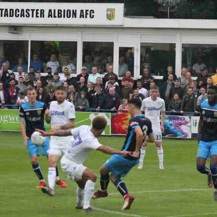 Tadcaster Albion 1 Leeds United 5