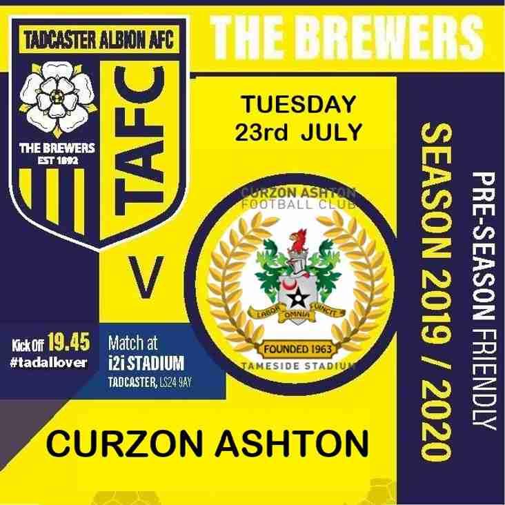 Curzon Ashton  Next Up at the i2i