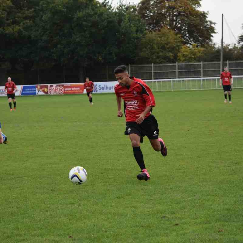 Vs Worcester Park 10/10/15