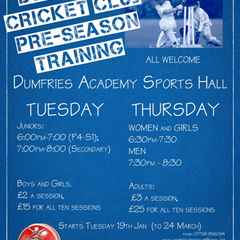 2016 Indoor Cricket Sessions