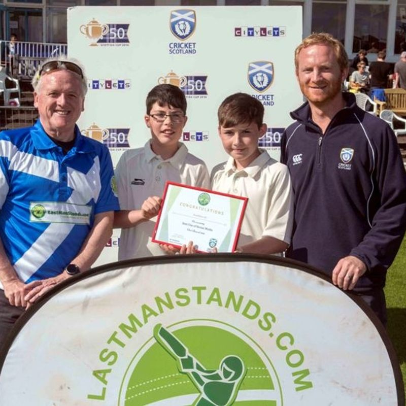 Cricket Scotland Award for Dumfries Cricket Club